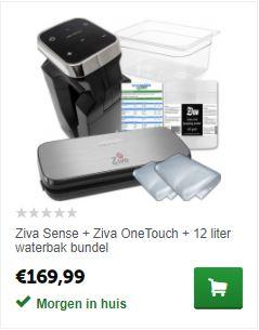 Ziva Sense sous-vide voordeelbundel
