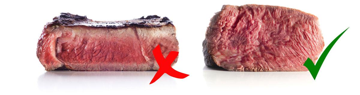 Perfecte biefstuk bereid je met sous-vide koken!